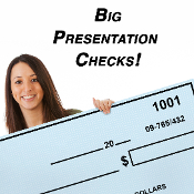 Large Presentation Check